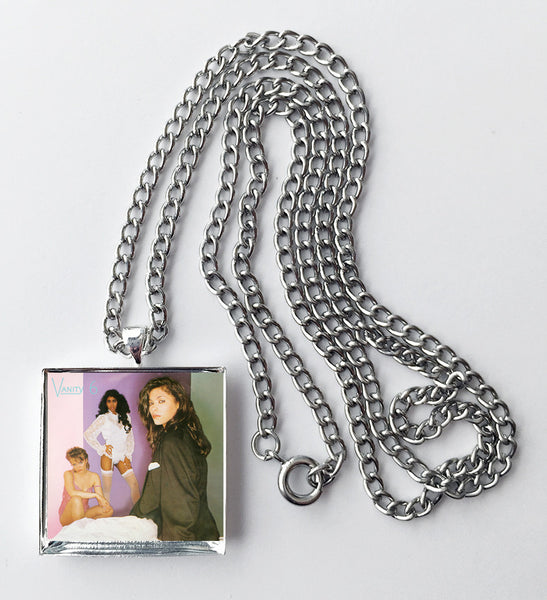 Vanity 6 - Self Titled - Album Cover Art Pendant Necklace