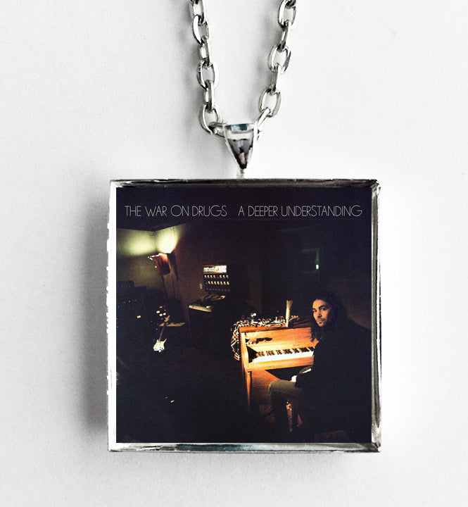 The War on Drugs - A Deeper Understanding - Album Cover Art Pendant Necklace - Hollee
