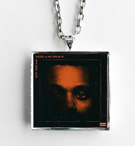 The Weeknd - My Dear Melancholy - Album Cover Art Pendant Necklace - Hollee