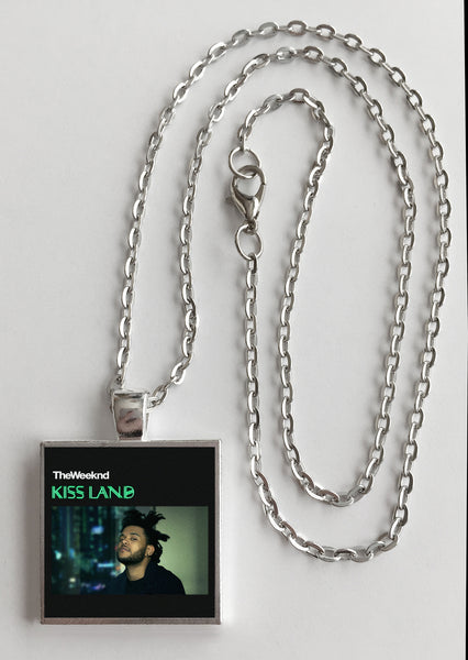 The Weeknd - Kissland - Album Cover Art Pendant Necklace - Hollee