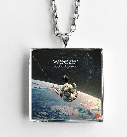 Weezer - Pacific Daydream - Album Cover Art Pendant Necklace