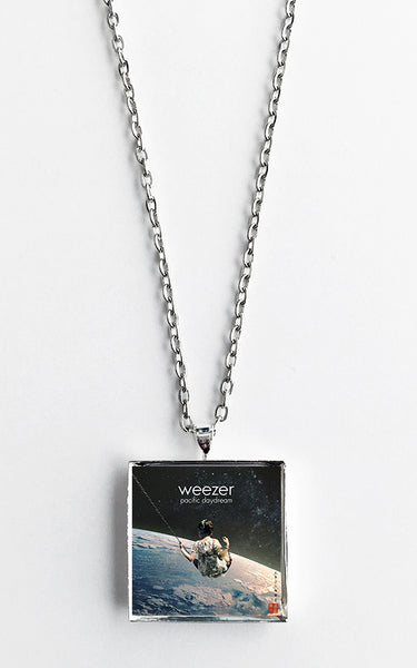 Weezer - Pacific Daydream - Album Cover Art Pendant Necklace - Hollee