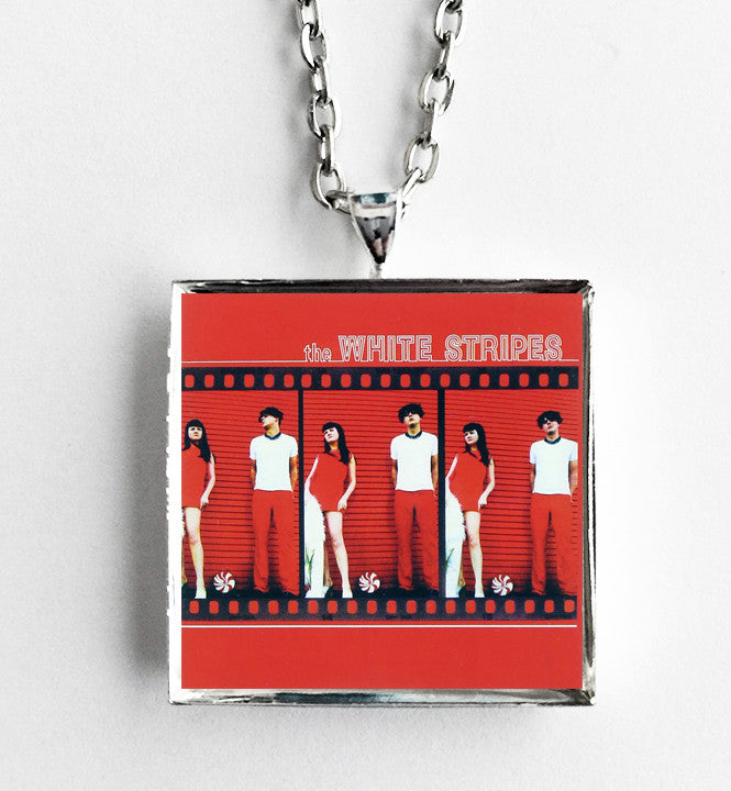 The White Stripes - Debut Record - Album Cover Art Pendant Necklace