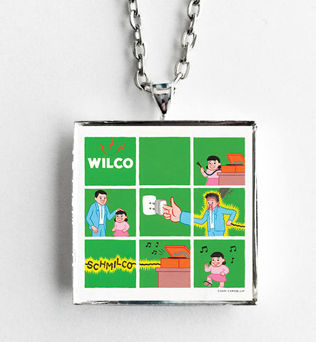 Wilco - Schmilco - Album Cover Art Pendant Necklace - Hollee