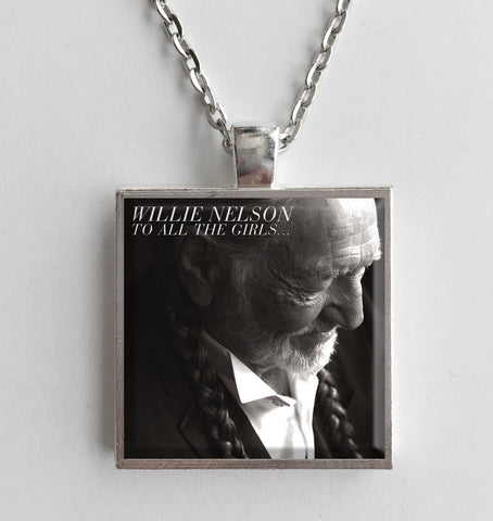 Willie Nelson - To All the Girls - Album Cover Art Pendant Necklace