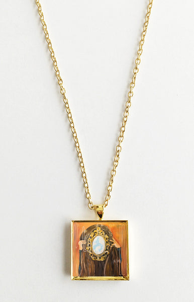 Wye Oak - Tween - Mini Album Cover Art Pendant Necklace - Hollee