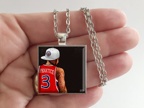Young Ma - Praktice - Album Cover Art Pendant Necklace