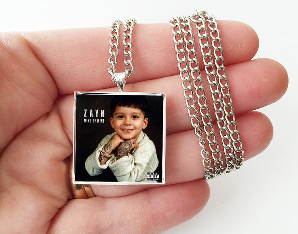 Zayn - Mind of Mine - Album Cover Art Pendant Necklace - Hollee