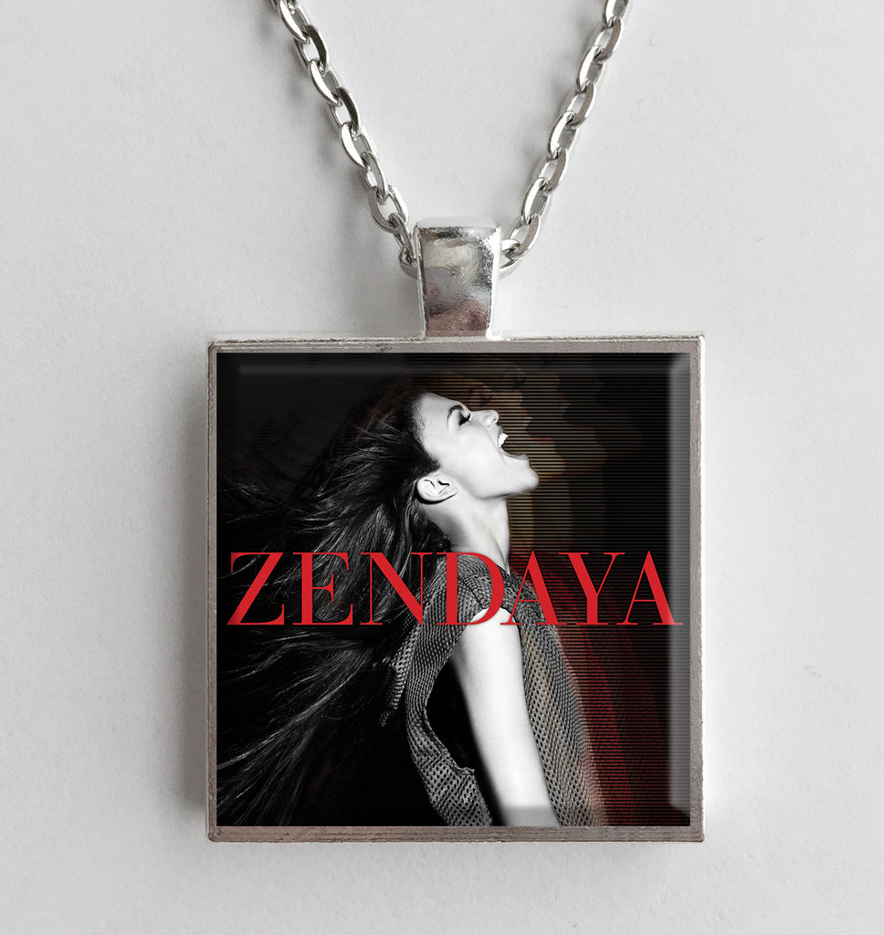 Zendaya - Self Titled - Album Cover Art Pendant Necklace - Hollee