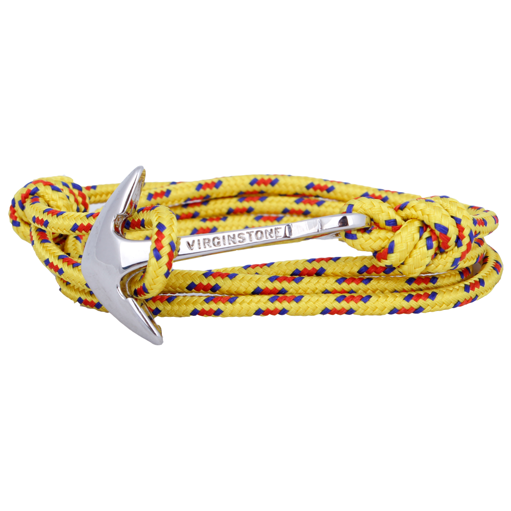 NYLON YELLOW Silver anchor