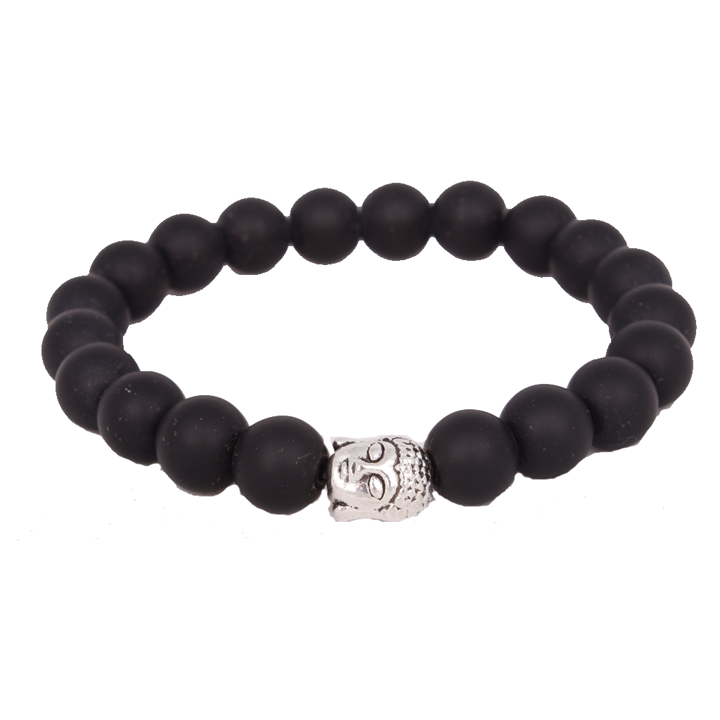 Thai Silver Buddha All Black