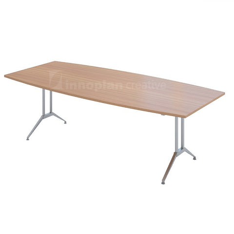 Boat Shaped Meeting Table (MS Metal Leg)