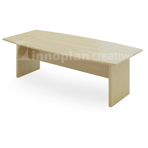 Boat Shaped Meeting Table (Wooden Leg)