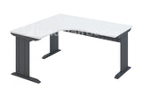 L-Shaped Table (IDC Metal Leg)