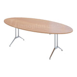 Oval Shape Meeting Table (MS Metal Leg)