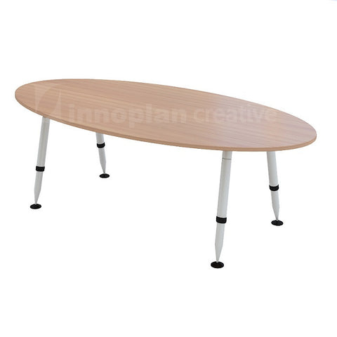 Oval Shape Meeting Table (UE Metal Leg)
