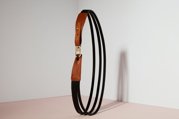 Belt - Whisky Brown / Black