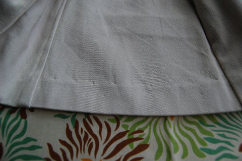 ALT Dress Blind Hem w/o Lining
