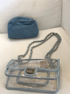 Denim Stadium Purse