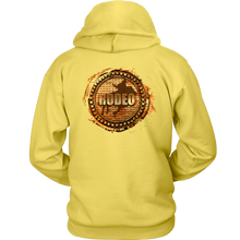 Ropin' (Black Front Logo) | 2 Sided Rodeo Life Hoodie