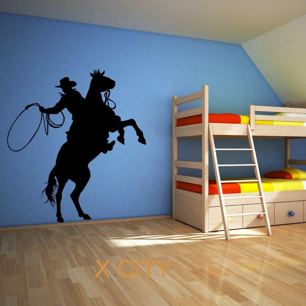 Roping Cowboy | Rodeo Wall Art Rodeo Life - Country Clothing - Rodeo