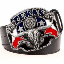 American Texas Bull Head | Belt w/ Buckle