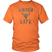 Western Apparel - Rodeo T-Shirt - Orange | Rodeo Life