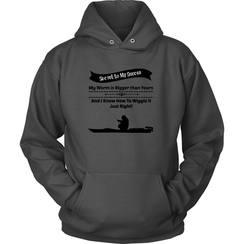 Fishing Hoodie - Secret to My Success Rodeo Life - Country Clothing - Rodeo