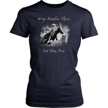 Barrel Racing - Wrap and Set Free T-Shirt - Womens Only Rodeo Life - Country Clothing - Rodeo