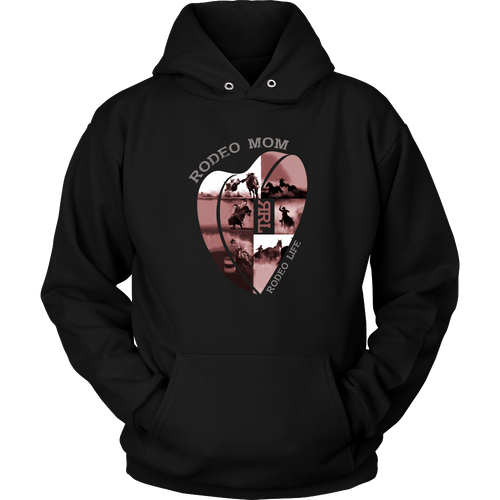 Rodeo Mom - Valentine's Day Hoodie Rodeo Life - Country Clothing - Rodeo