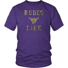Rodeo Life Camo - Tee Shirt Rodeo Life - Country Clothing - Rodeo