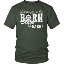 Stays In Barn | Custom Quote T-Shirt