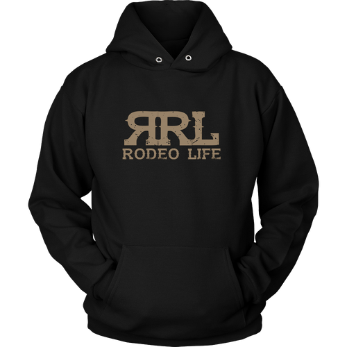 Rodeo Life Premium Hoodie - Making The Eight Seconds Count - Front and Back Design Rodeo Life - Country Clothing - Rodeo