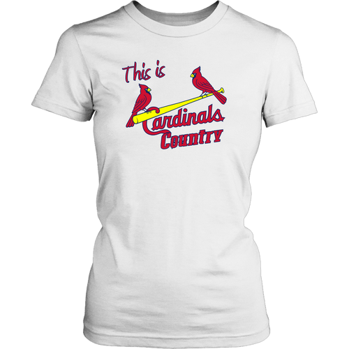 Cardinal's Country | MLB T-Shirt | Women Rodeo Life - Country Clothing - Rodeo