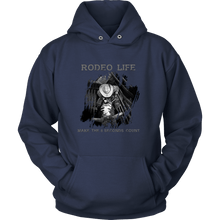 Make The 8 Count | Rodeo Life Hoodie Rodeo Life - Country Clothing - Rodeo