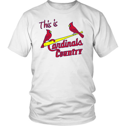 Cardinal's Country | MLB T-Shirt | Men/Women Rodeo Life - Country Clothing - Rodeo