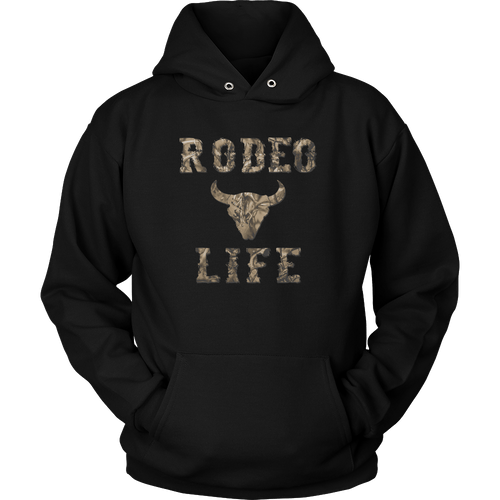Camo Bull | Rodeo Life Hoodie Rodeo Life - Country Clothing - Rodeo