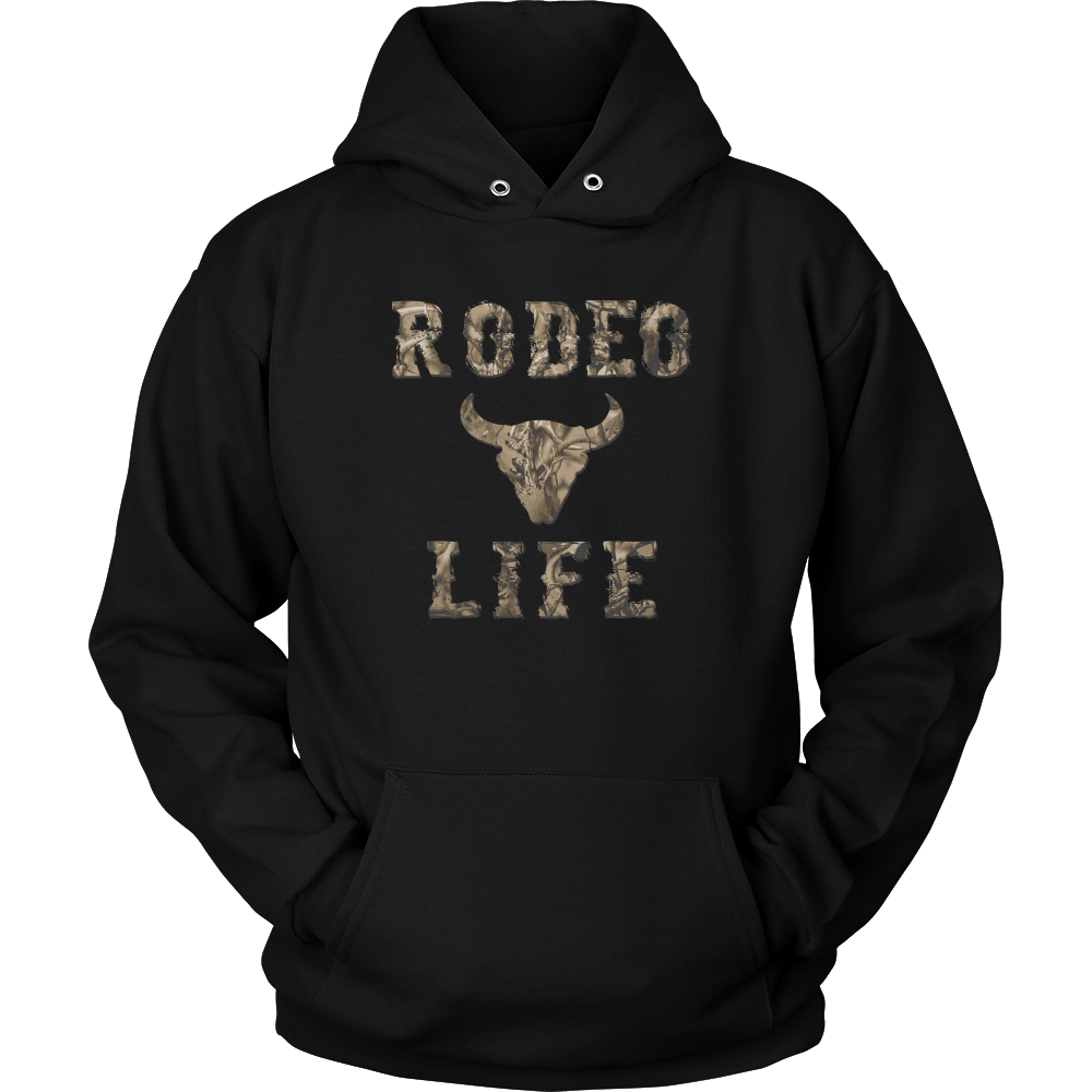 Rodeo Life Camo Hoodie | Men & Women | Limited Offer Rodeo Life - Country Clothing - Rodeo