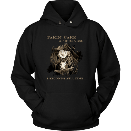 TCB Bull Riding Hoodie - Mens/Womens Rodeo Life - Country Clothing - Rodeo