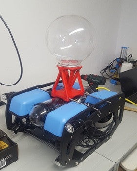 ROV mounted 360bubble!