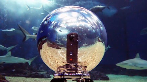 360bubble underwater housing for 360 cameras
