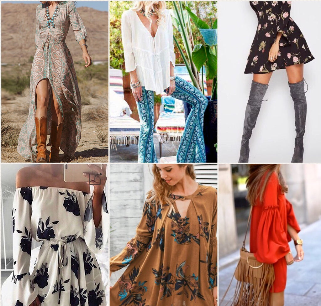 What's New & Trending in Boho Chic, Vintage, Bohemian Retro Style & Fashion