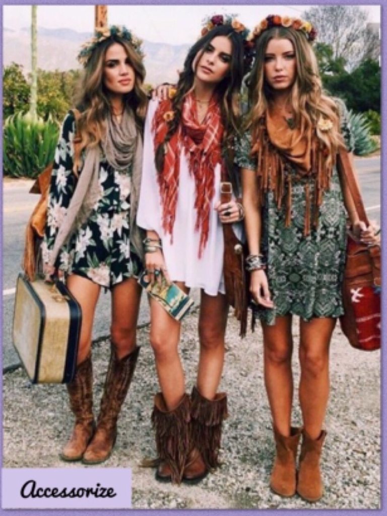 Boho Dressing Tips:  How to Give Edgy Look with Boho Chic Clothing