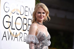 Nicole Kidman having fun with fashion at the 2017 Golden Globe Awards