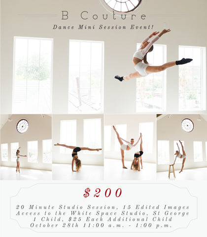 Dance Mini Sessions, October 28th