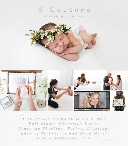 Workshop in a Box {Studio + Newborn}