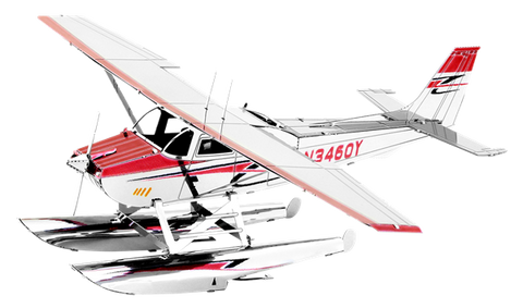 Metal Earth - Cessna 182 Floatplane
