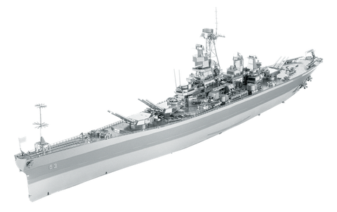 Metal Earth - ICONX - USS Missouri BB-63