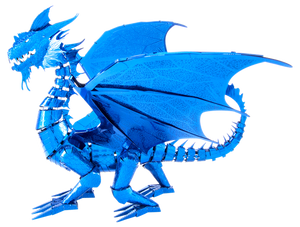 Metal Earth - ICONX - Blue Dragon