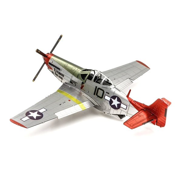 Metal Earth - ICONX - Tuskegee Airmen P-51D Mustang